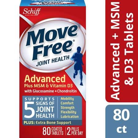 Move Free Advanced Plus MSM & Vitamin D3 Glucosamine Chondroitin