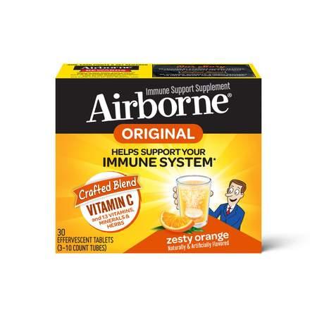 Airborne Zesty Orange Effervescent Immune Support Supplement